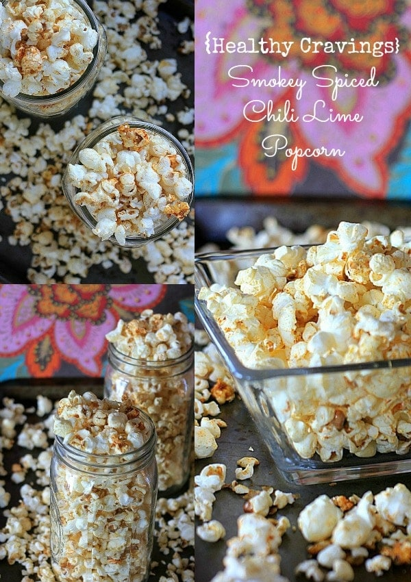 Satisfy all your healthy snack cravings with this Smokey Spiced Chili Lime Popcorn!