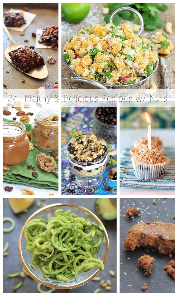 24 Healthy and Delicious Recipes with Nuts + Nut Nutrition 101 | Spicy RD Nutrition