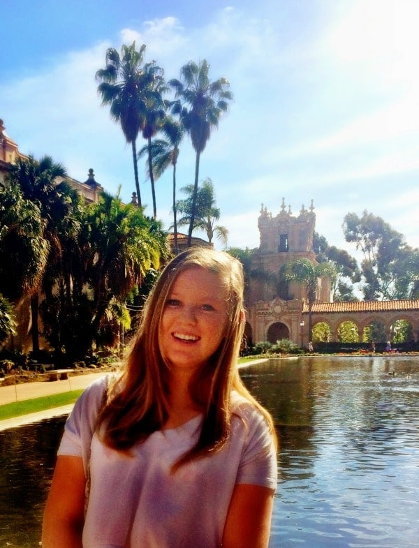 Hanging out at Balboa Park on a sunny afternoon is one of my favorite things to do in San Diego!