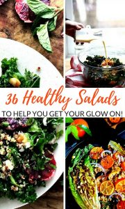 36 Healthy Salad Recipes for Dinner & Lunch