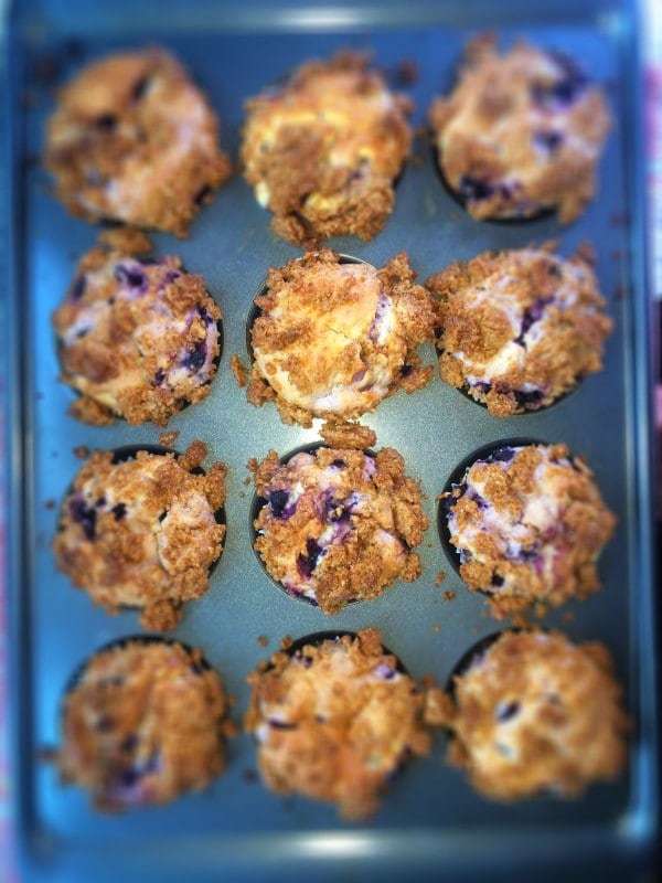 Gluten-Free Lemon Blueberry Muffins