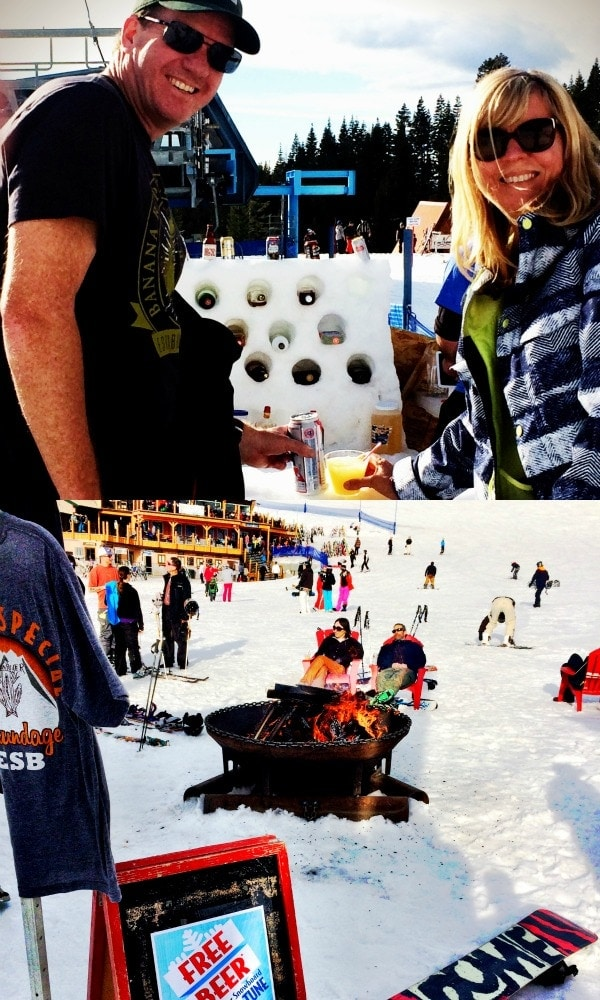 This might be the best apres ski ever, at Brundage Mountain in McCall , Idaho | EA Stewart