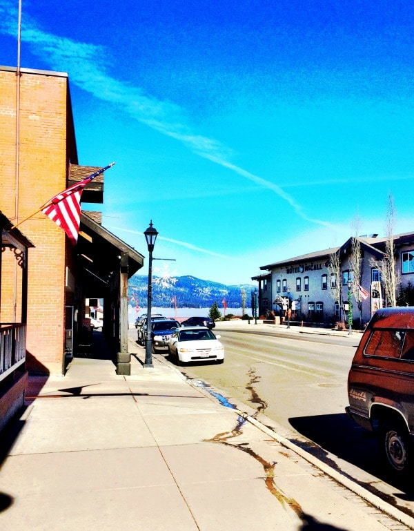 Downtown McCall Idaho | EA Stewart