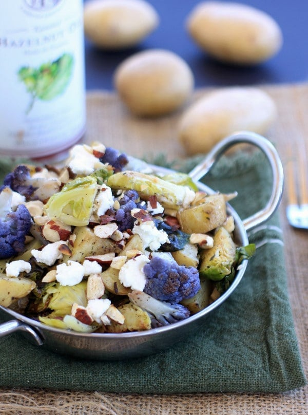 Idaho Love | Roasted Potatoes w/ Brussel's Sprouts & Cauliflower + 5 Perfect Days in McCall