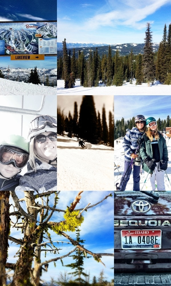 An absolute perfect ski day at Brundage Mountain in McCall Idaho | EA Stewart