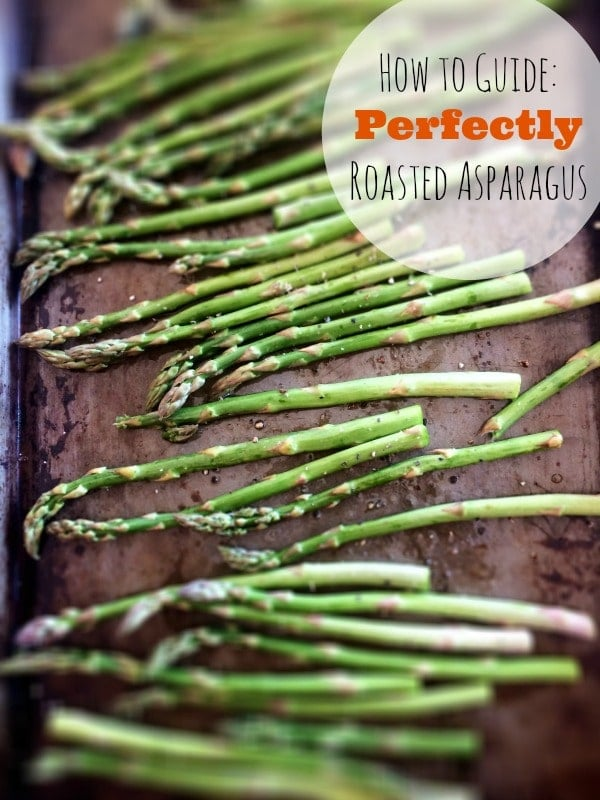 This Perfectly Roasted Asparagus is super easy to make and a healthy addiction!