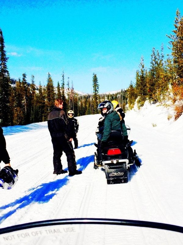 When in McCall, Idaho, snowmobiling is a must! | EA Stewart