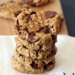 Happy Belly, Healthy Life | Oatmeal Peanut Butter Chia Chocolate Chip Breakfast Cookies
