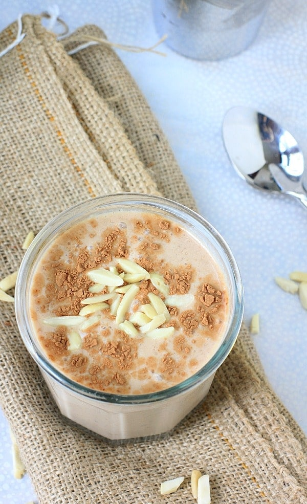 , dreamy, delicious Mexican Chocolate Banana Almond Breakfast Shake ...