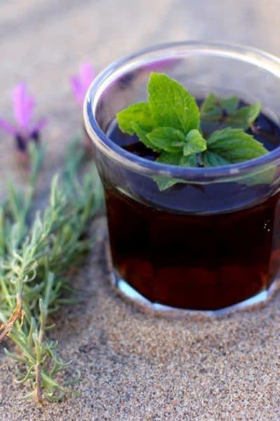 Lavender Mint Tea…Fresh from the Garden.
