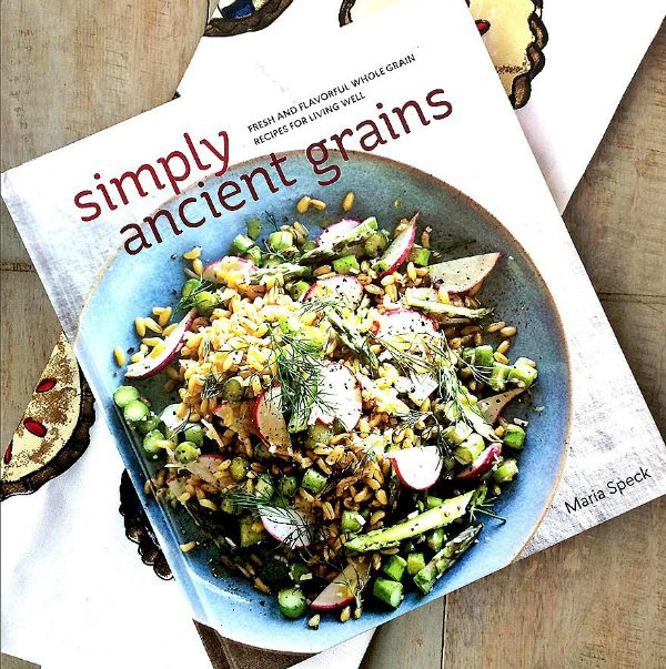Fall Giveaway at The Spicy RD featuring Simply Ancient Grains Cookbook by Maria Speck