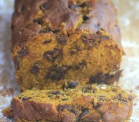 "Lazy Sundays & ""One Bowl"" Chocolate Chip Pumpkin Bread"