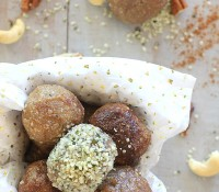 Low Carb No-Bake Nutty Caramel Energy Bites