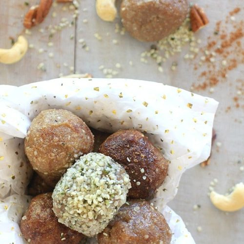 These Low Carb No-Bake Nutty Caramel Energy Bites are insanely delicious, and, bonus, a little bit healthy too!