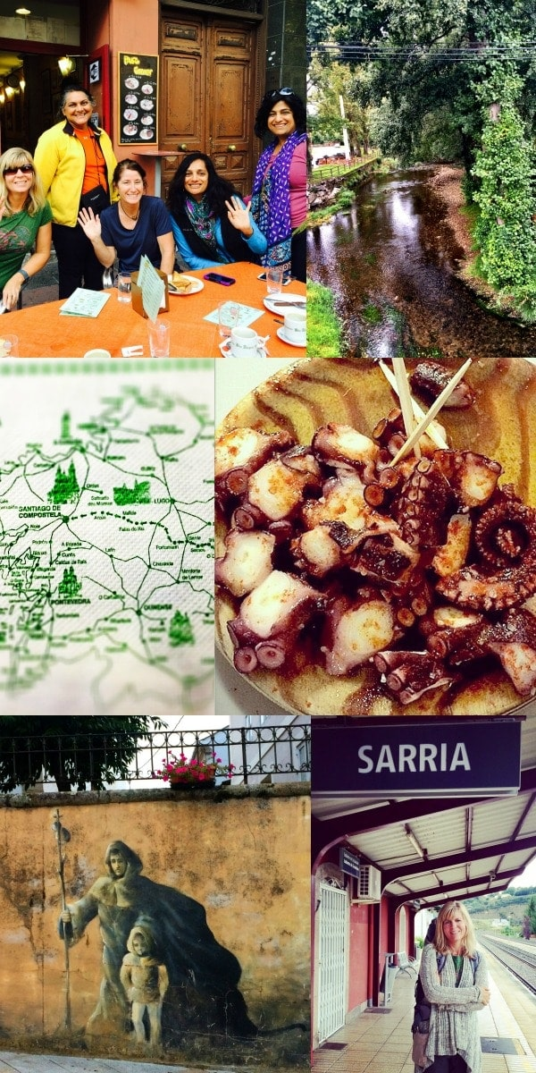 The journey from Madrid to Sarria, Spain-the starting point for walking the final portion of the Camino Frances on the Camino de Santiago pilgrimage route to Santiago de Compostela, Spain. || The Spicy RD