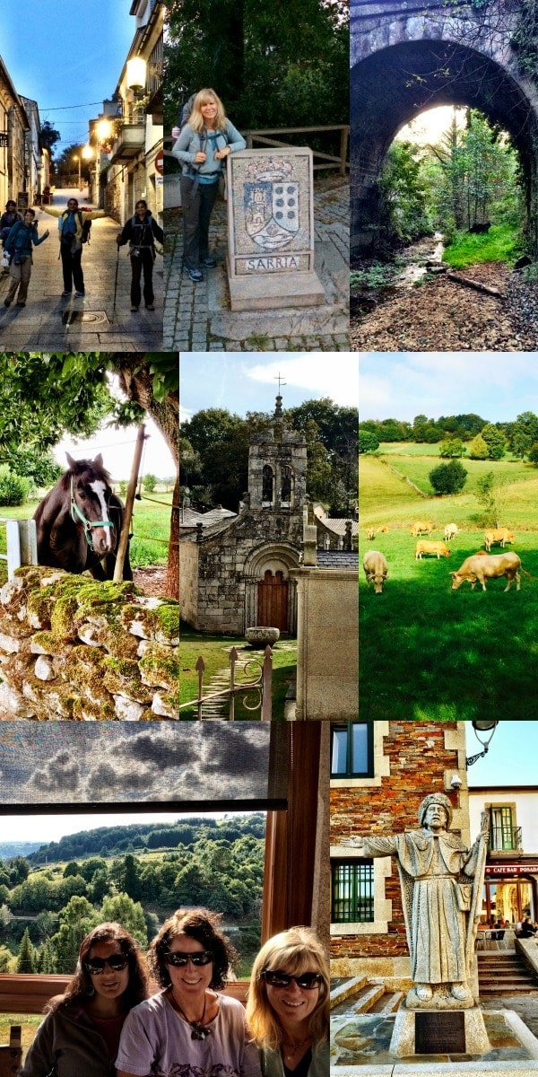Walking from Sarria to Portomarin, Spain on The Camino Frances || The Spicy RD
