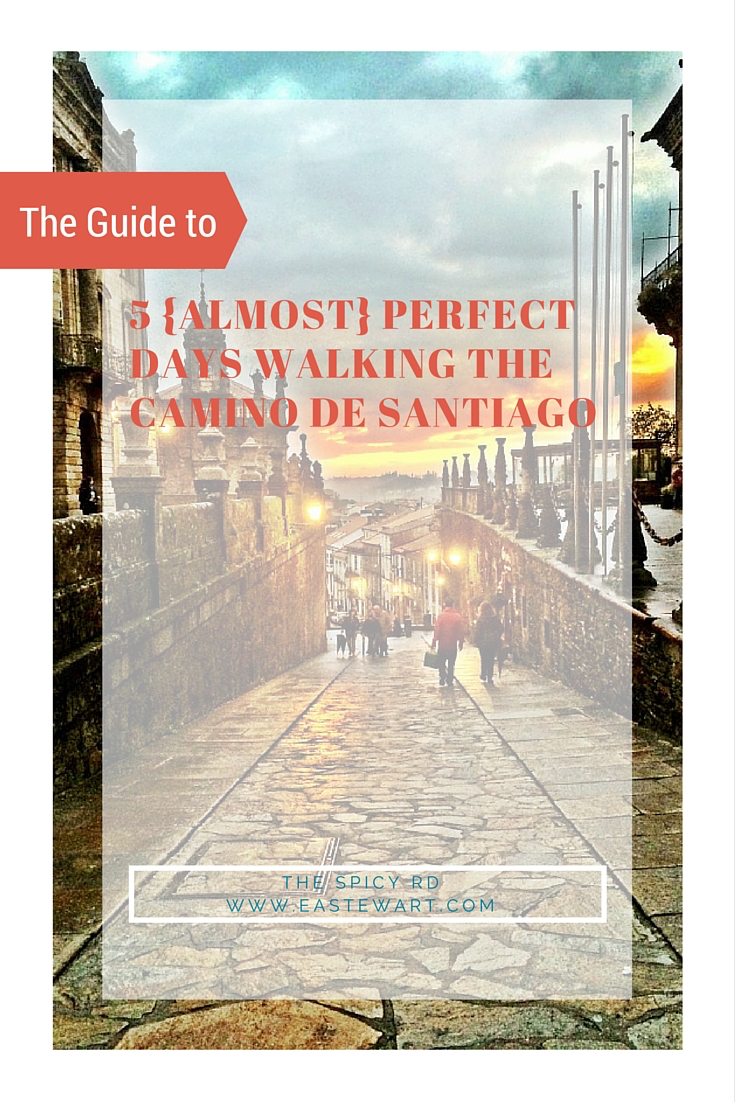 The guide to 5 Almost Perfect Days Walking the Camino de Santiago || The Spicy RD