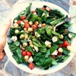 Spinach, Mozzarella, Tomato & Chickpea Salad + More Healthy Lunch Ideas