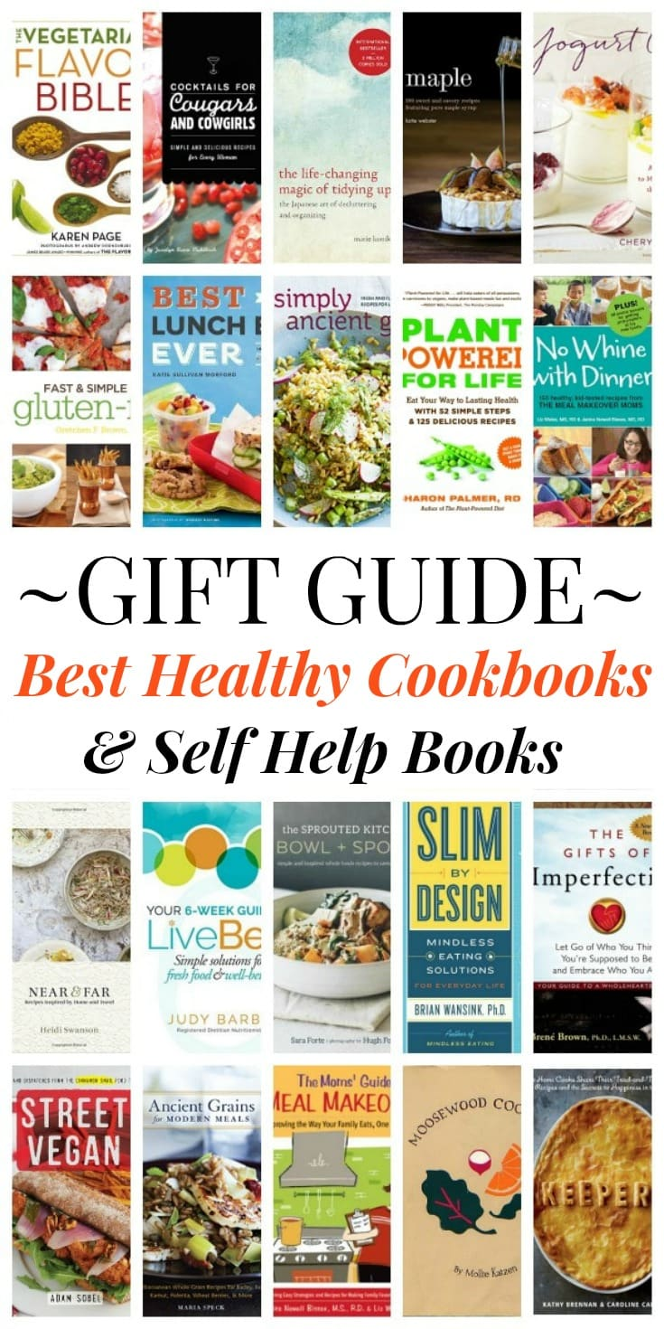 25 best healthy cookbooks gift guide holiday giveaway this best healthy cookbooks self help books gift guide will inspire you to stay healthy forumfinder Choice Image