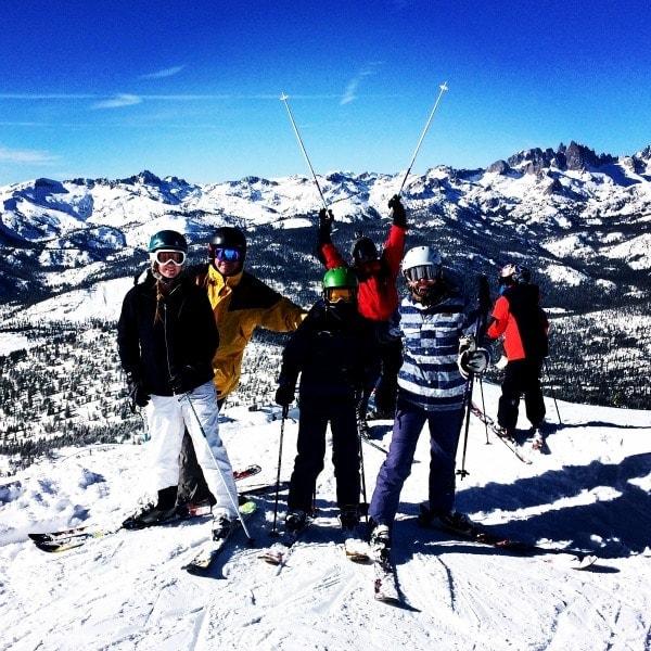 Family Ski Trip | Mammoth, California