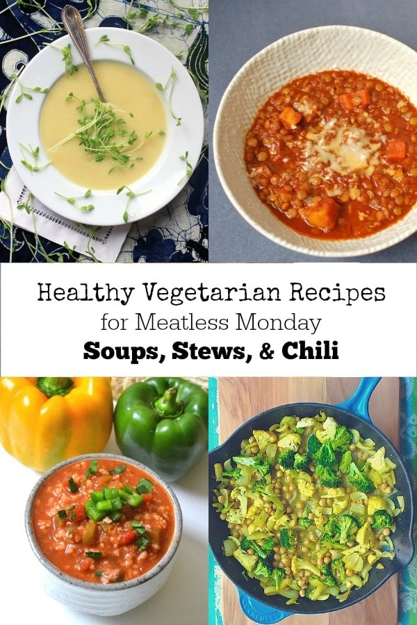 Healthy Vegetarian Recipe for Meatless Monday | Soup, Stew, Slow Cooker, & Chili Recipes