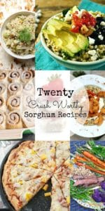 Ancient Grains | 20 Crush Worthy Sorghum Recipes + a Giveaway!