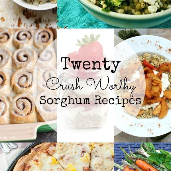 Ancient grains are hot these days, and one of my favorite ancient grains is sorghum. It's naturally gluten-free and has a delicious nutty taste and chewy texture. Try it in one of these 20 Crush Worthy Sorghum recipes!