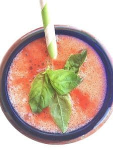 Strawberry Basil Lemonade + 8 {Delicious} Reasons To Eat Strawberries