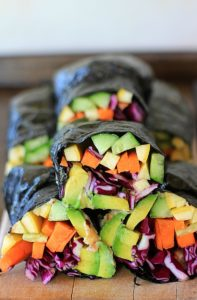 Sunrise Nori Wraps with Spicy Tahini Drizzle