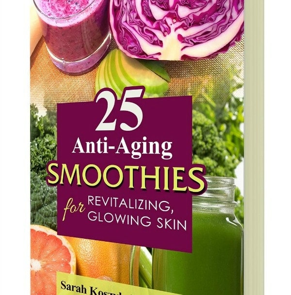 Smoothie Cookbook Review | 25 Anti-Aging Smoothies for Revitalizing, Glowing Skin by Sarah Koszyk, RDN