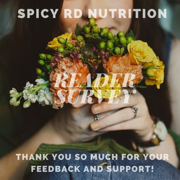 1st Annual Spicy RD Nutrition Survey