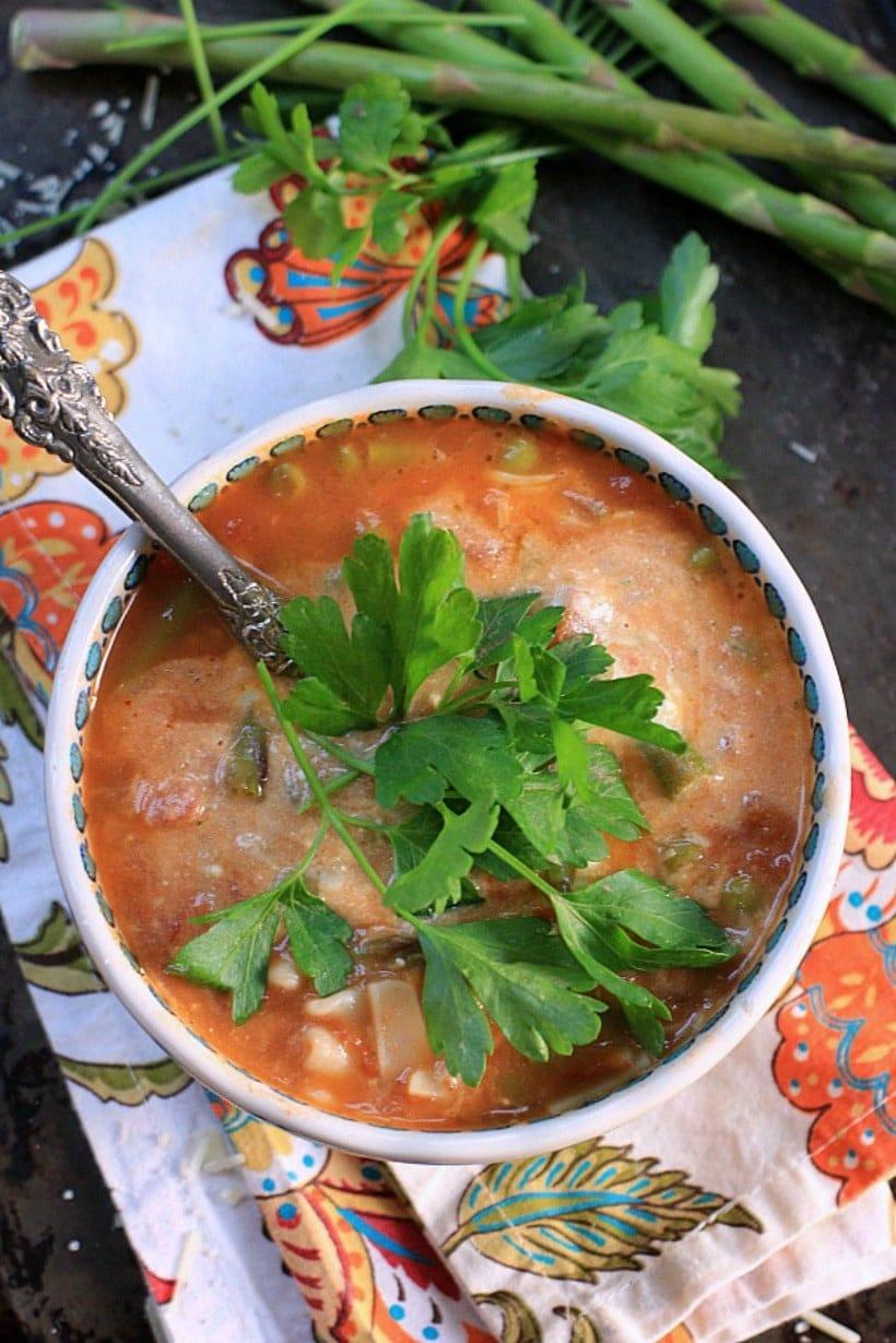 Market Lasagna Soup