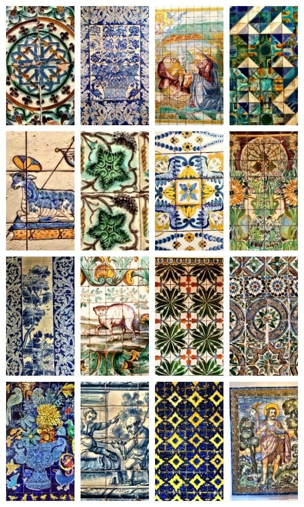 If you're a tile lover, the National Tile Museum { Museu Nacional do Azulejo } in Lisbon, is a must see. In addition to the exquisite collection of 1300+ tiles dating from the 15th century to present day, you can enjoy strolling through the museum building, a 16th century convent, and have a lovely lunch in the courtyard. | Portugal Travel