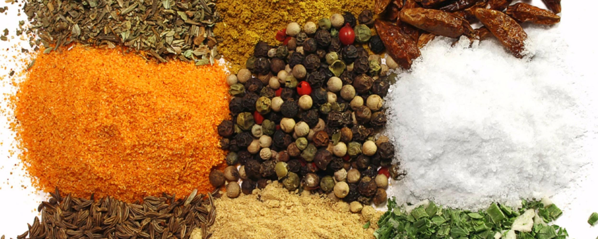 Market Spice Slider