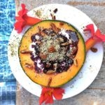 Cantaloupe Breakfast Bowl + More Happy Things & Healthy Living Tips