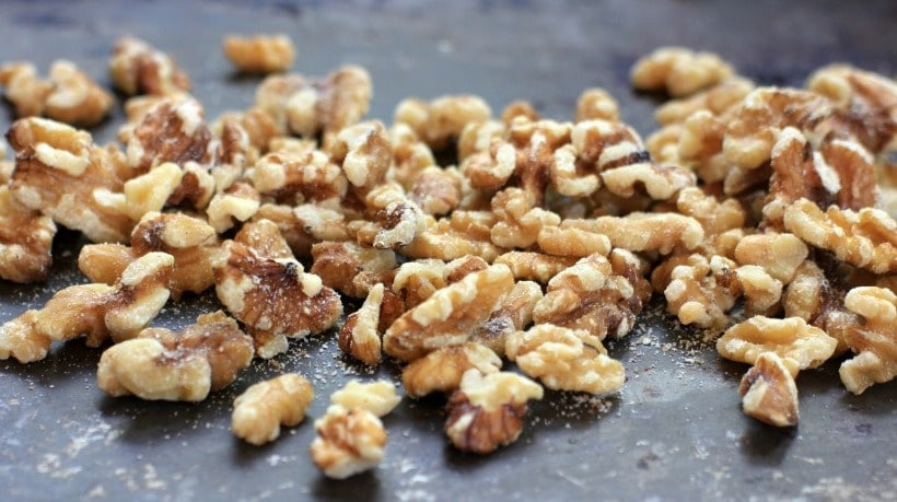 Walnuts are a nourishing and delicious snack! #sponsored by California Walnuts