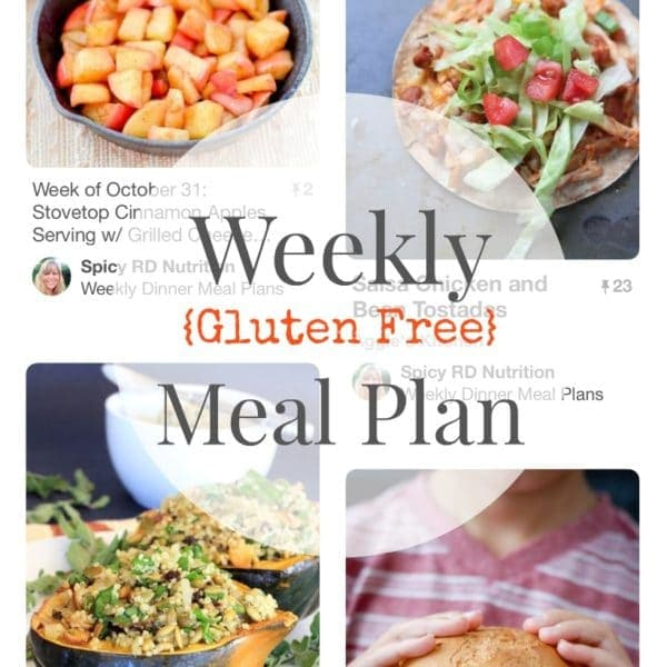 Friday Favorites + My Weekly Meal Plan: Low FODMAP Vegetables, Dietitian Confessions, and More!