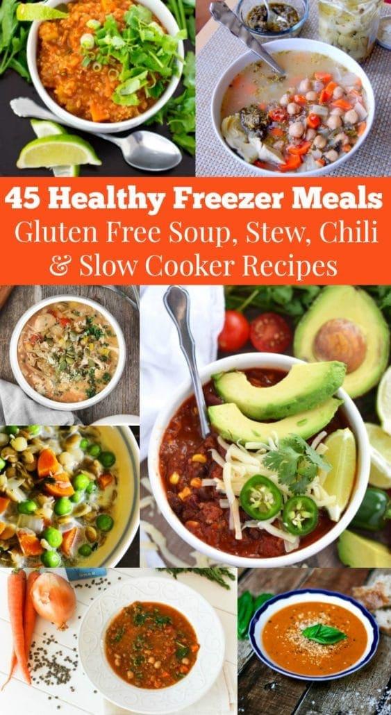 45 Healthy Freezer Meals