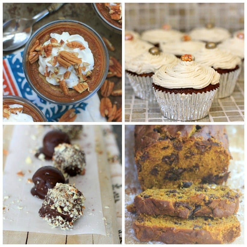 Gluten Free, Low FODMAP Thanksgiving Recipes ~ Desserts | Holiday Recipe Round-Up @thespicyrd www.eastewart.com