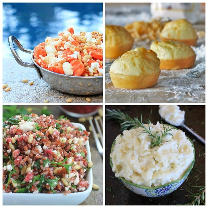 Gluten Free, Low FODMAP Thanksgiving Recipes ~ Side Dishes | Holiday Recipe Round-Up @thespicyrd www.eastewart.com