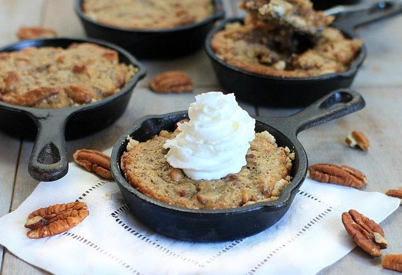 Mini Gluten Free Pecan Pie Tarts