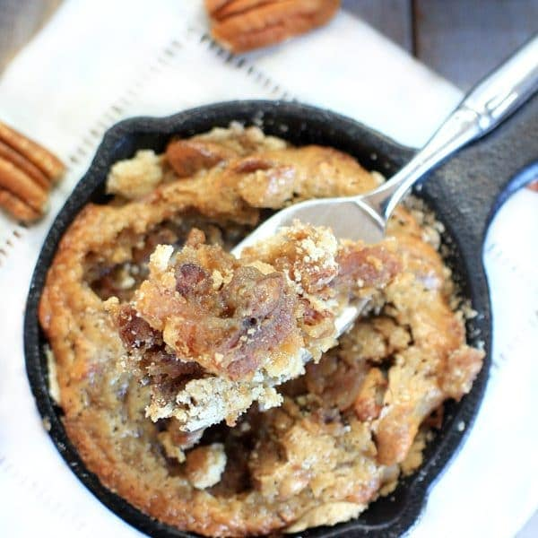 Mini Gluten Free Pecan Pie Tarts {Low FODMAP, Vegan}