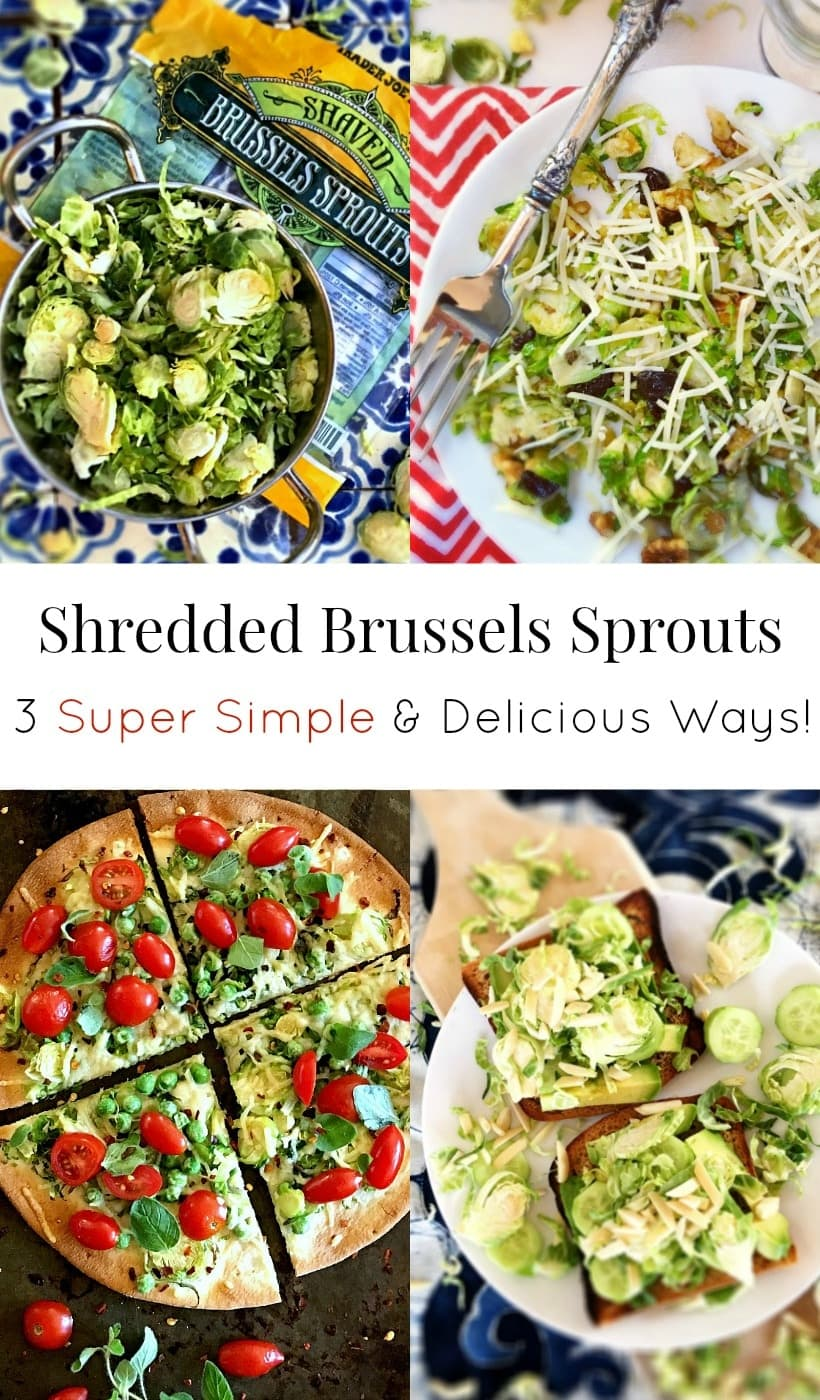 It's easy to eat your cruciferous veggies with these 3 SUPER SIMPLE Brussels Sprouts Recipes. P.S. They're super delicious too! | Gluten Free Brussels Sprouts recipes @thespicyrd