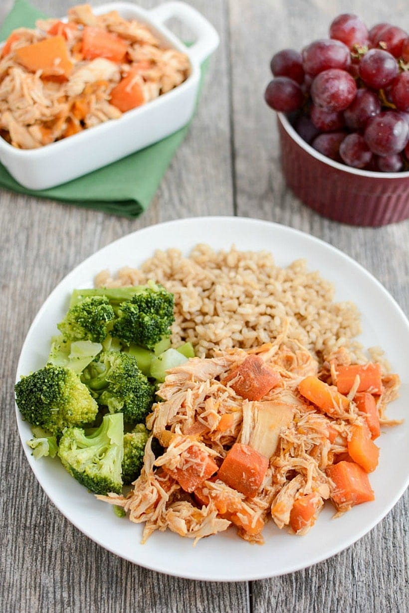 """Slow Cooker Honey Garlic Chicken + 44 More """"Make Ahead"""" Healthy Freezer Meals for Busy Weeknight Dinners 
