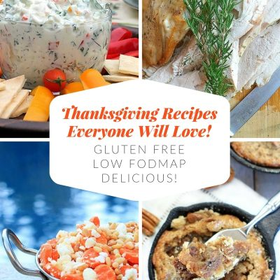These flavorful gluten free, low FODMAP Thanksgiving recipes are sure to please everyone you're celebrating with this holiday season!