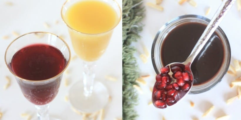 Spiced Pomegranate Orange Syrup
