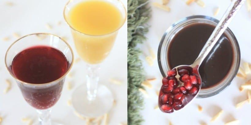 Spiced Pomegranate Orange Syrup
