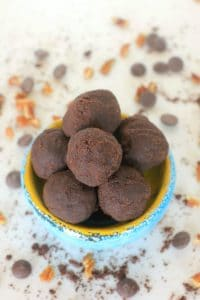 Happy Belly Green Banana Flour Brownie Bites + The Nutrition Scoop on Resistant Starch