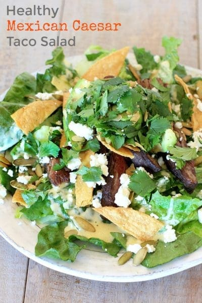 How To Make a Healthy Taco Salad Everyone Will Love!