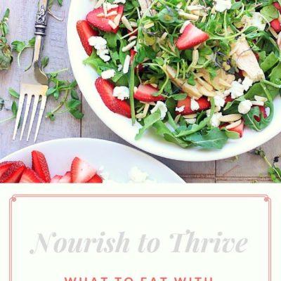 Nourish to Thrive! What to Eat on a Sjogren's + Autoimmune Diet